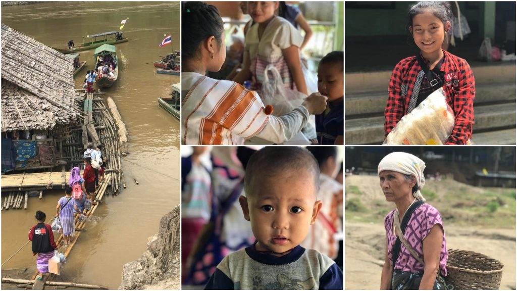 refugees on the Thai Myanmar boarder