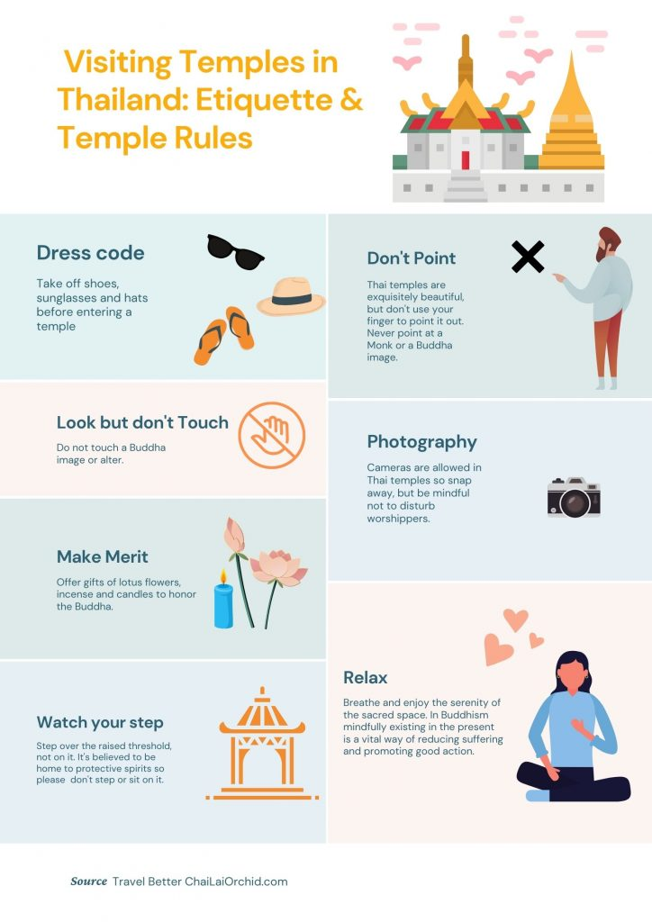 thailand temple rules
