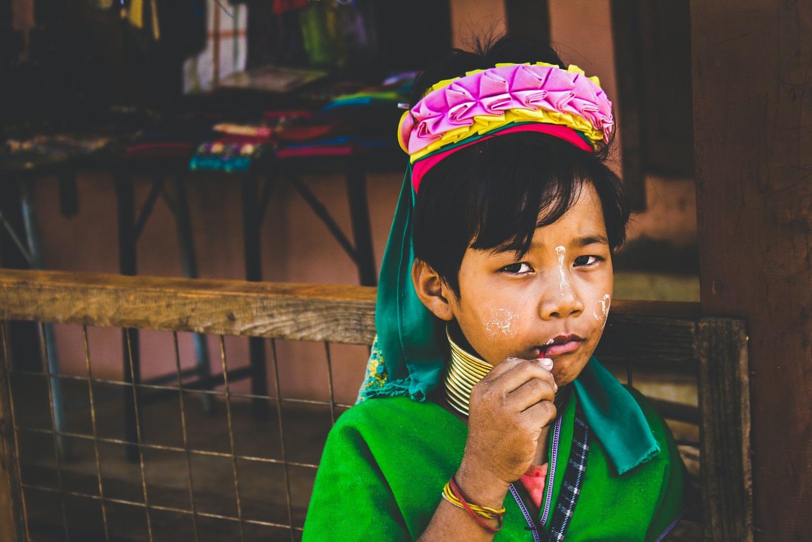 kayan girl in thailand
